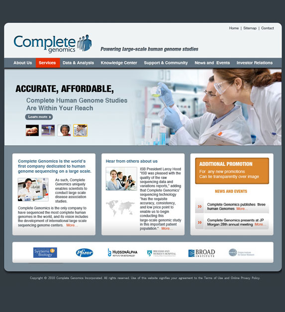 Complete Genomics by circle8media